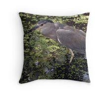 Waterbird at Brookgreen Gardens Throw Pillow
