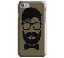 Hipster Bow Tie iPhone Case/Skin