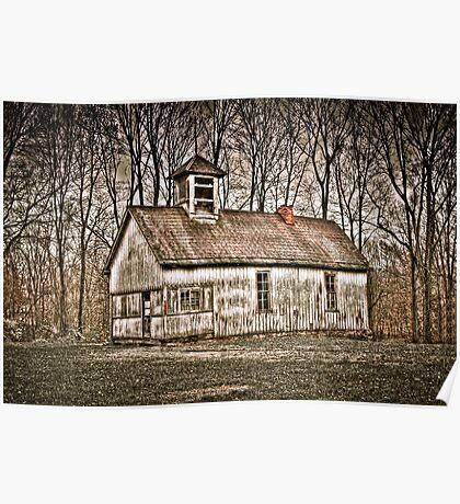 Old School House Barn in Avon Poster