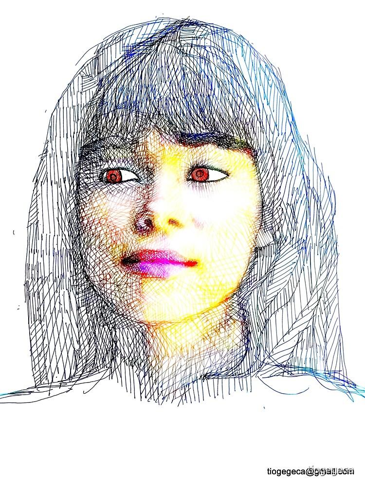 portraits of friends, students etc: Ludy by tiogegeca