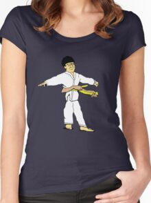Yellow Belt Women's Fitted Scoop T-Shirt