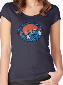 Australiana Platypus Women's Fitted Scoop T-Shirt