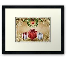 Christmas is coming... © Framed Print