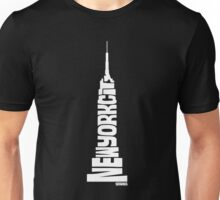 New York City: Empire State Building White Unisex T-Shirt