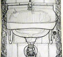 pencil & paper: lavabo  by tiogegeca
