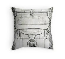 pencil & paper: lavabo  Throw Pillow