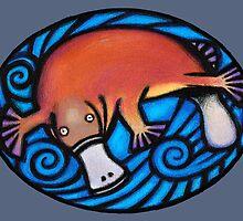 Platypus by Kim  Lynch