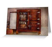 Chef - Fridge - The ice chest  Greeting Card
