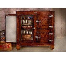 Chef - Fridge - The ice chest  Photographic Print