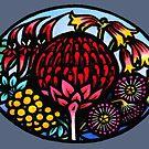 Australian Wildflowers by Kim  Lynch
