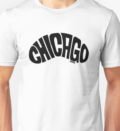 Chicago Bean Black Unisex T-Shirt