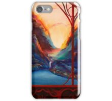 Rivendell Valley iPhone Case/Skin