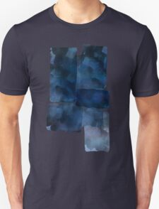 Blue Abstract Painting T-Shirt