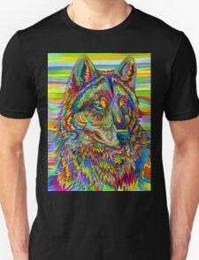 Psychedelic Wolf T-Shirt