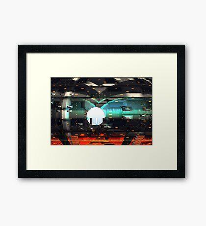 Savage Design Framed Print
