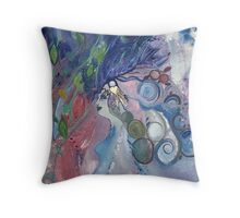 FOREST ANGEL Throw Pillow
