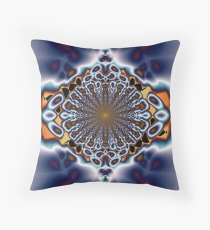 Mesmeric Influence Throw Pillow