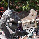 Fozzy Bear Statue by dgscotland