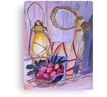 In await for Christmas Canvas Print
