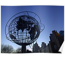 New York City World Poster