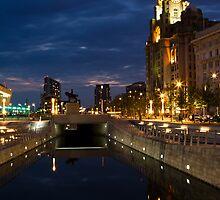 Liverpool Pier Head by Britman