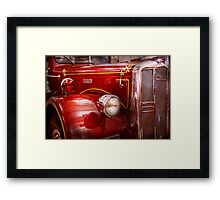 Fireman - Ward La France  Framed Print