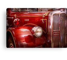 Fireman - Ward La France  Canvas Print