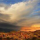 outback sky at sunrise by Kevin McGennan