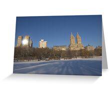 Upper West Side Sky Line Greeting Card
