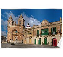 Colours of an Island --- M'Xlokk Parish Malta  Poster