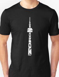 Toronto CN Tower White Unisex T-Shirt