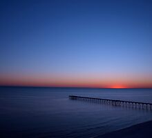 Beach FL Sun Set by Kenneth Purdom