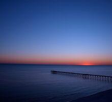 Beach FL Sun Set by Kenneth Purdom