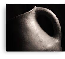 Ceramic form Canvas Print