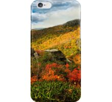 Roughing It Grandly iPhone Case/Skin