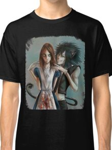 Alice & Cheshire Cat Classic T-Shirt