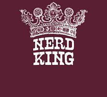 Nerd King Crown Logo (White Ink) Unisex T-Shirt