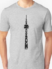 Toronto CN Tower Black Unisex T-Shirt