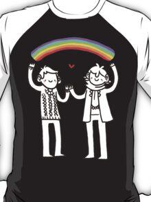Sherlock and John: Rainbows T-Shirt