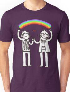 Sherlock and John: Rainbows Unisex T-Shirt