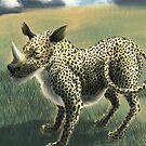 Rhinopard by Ivan Bruffa
