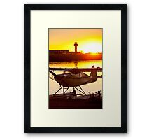 Super Cub at the End of the Day Framed Print