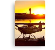 Super Cub at the End of the Day Canvas Print