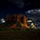 Red Rock Mountain at Sedona by DHParsons