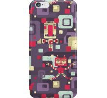 Geometric robots. iPhone Case/Skin