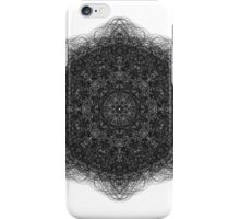 Black lace design iPhone Case/Skin