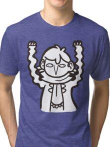 Doodlelock: Wiggly Arms Tri-blend T-Shirt