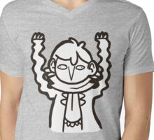 Doodlelock: Wiggly Arms Mens V-Neck T-Shirt