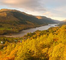 Balquhidder Braes & Loch Voil, Balquhidder, Loch Lomond & The Trossachs, Scotland by James Paul