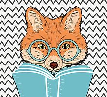 Reading Fox Design by evieseo